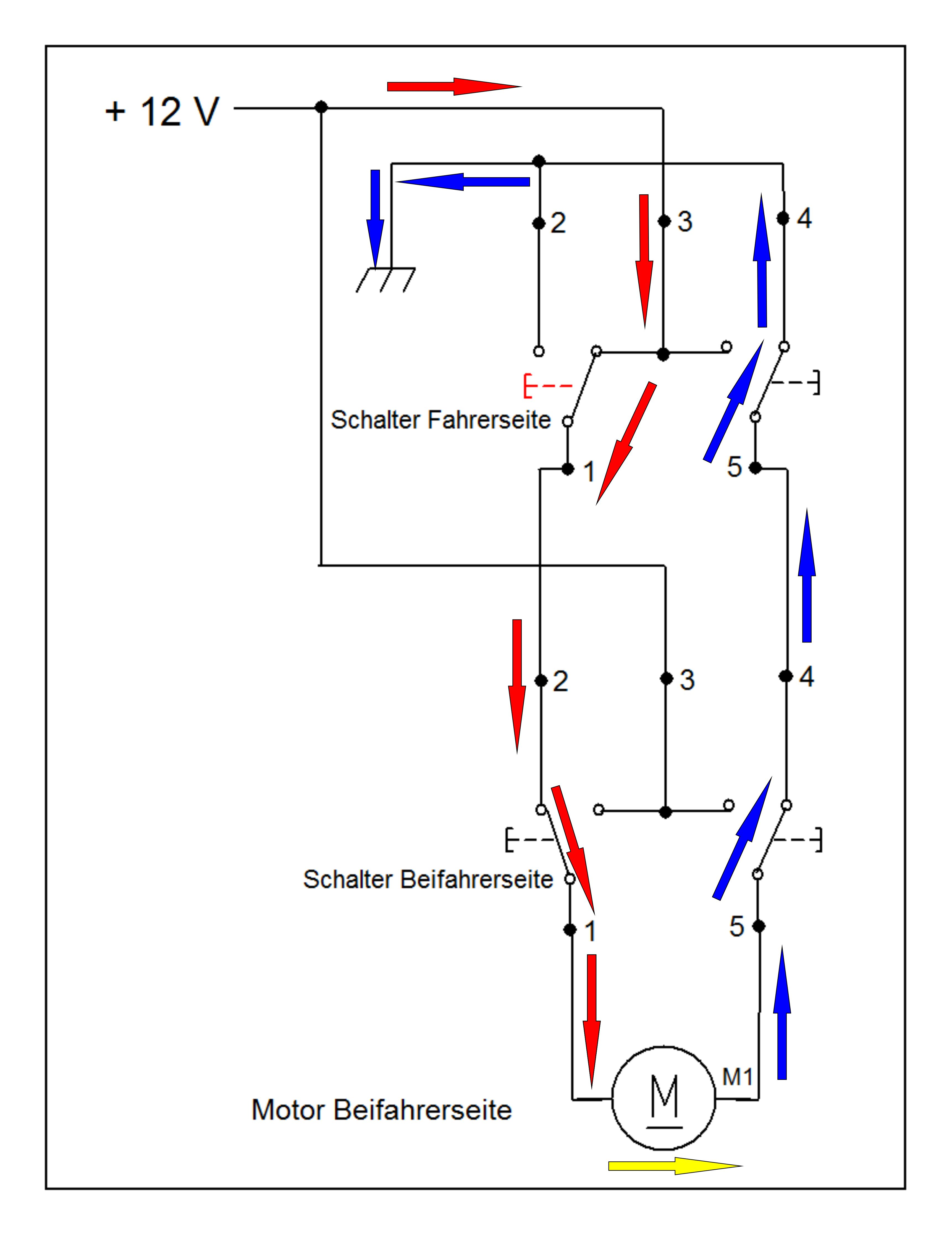 Schön Einfacher Schaltplan Für 12 Volt Schalter Bilder - Elektrische ...